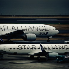 飛行機 STAR ALLIANCE