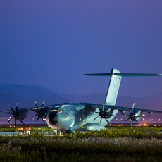 イギリス空軍 Airbus A400M輸送機